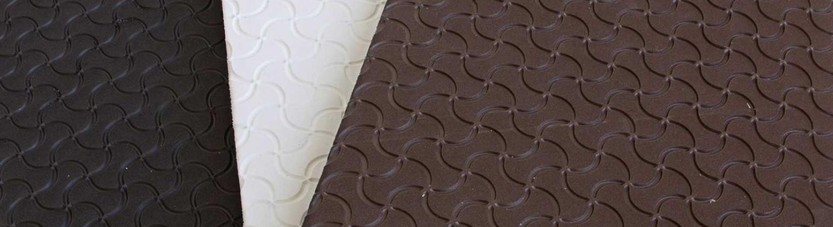Header eva rubber soling sheet